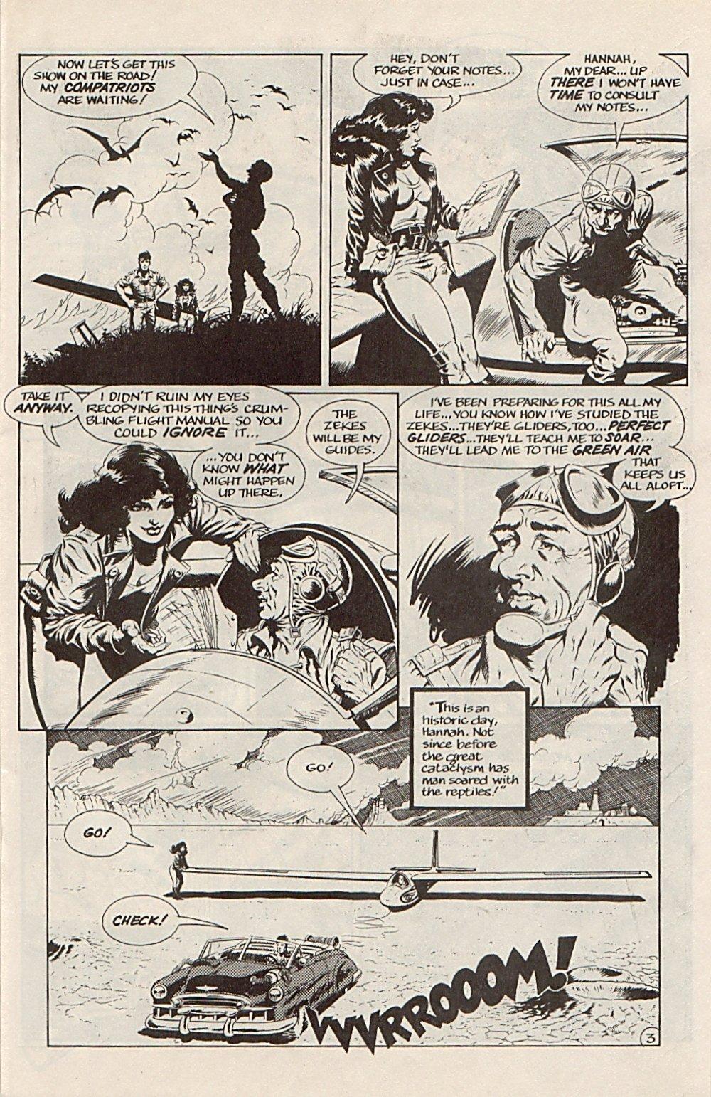 Read online Xenozoic Tales comic -  Issue #6 - 15