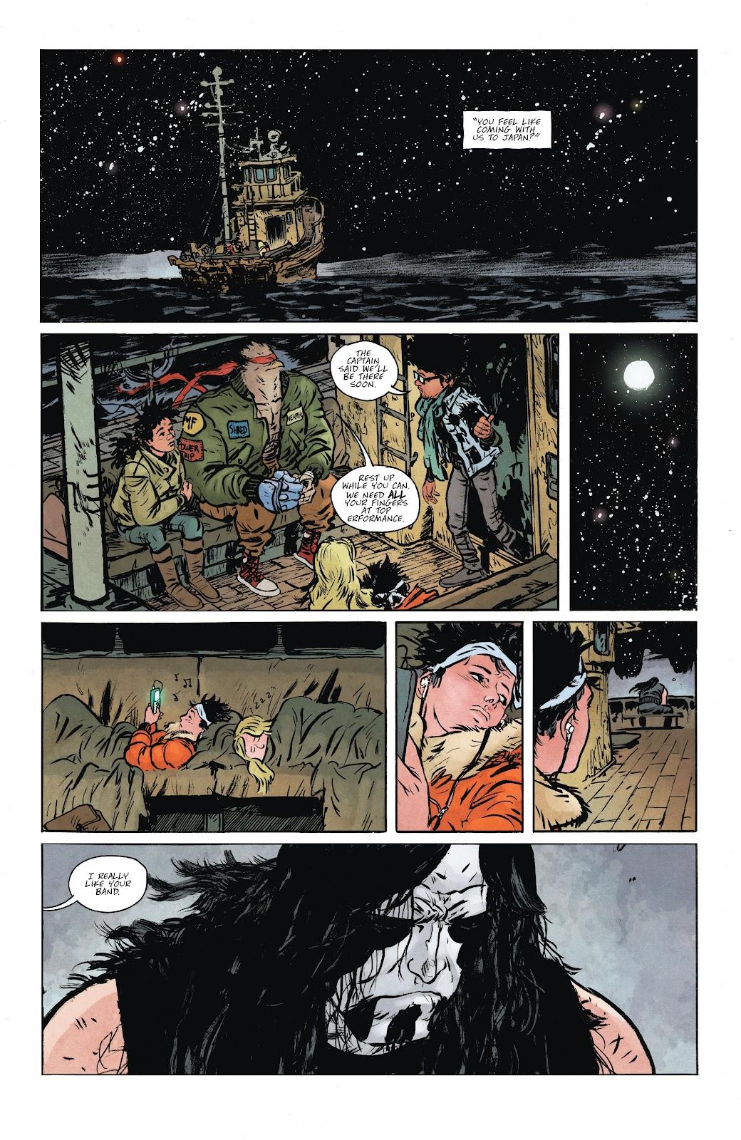 Read online Murder Falcon comic -  Issue #6 - 4