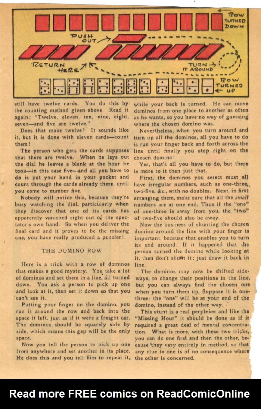 Read online Super-Magician Comics comic -  Issue #43 - 25