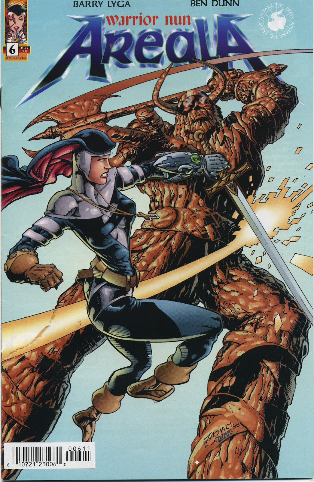 Warrior Nun Areala (1997) Issue #6 #6 - English 1