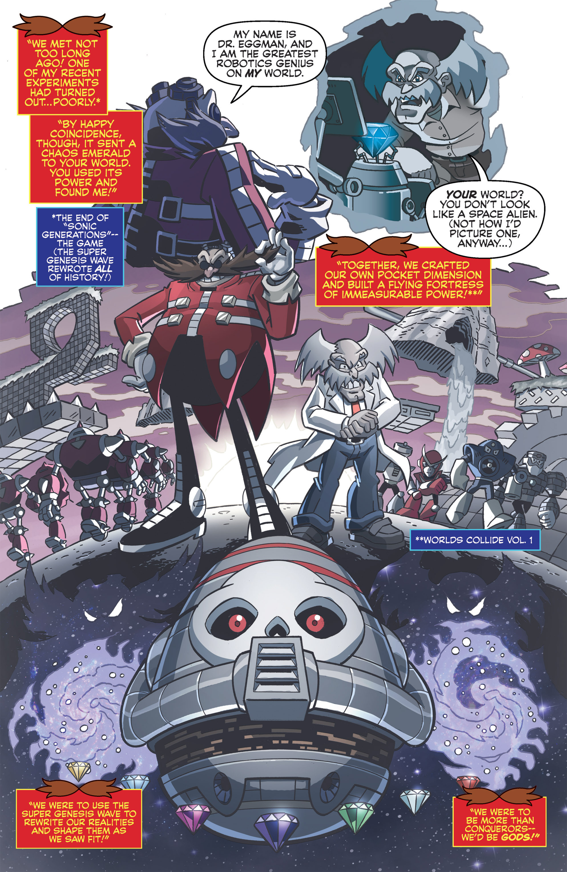 Read online Sonic Boom comic -  Issue #8 - 12