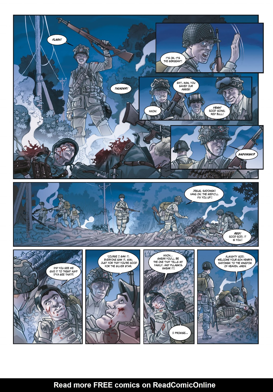 Read online Opération Overlord comic -  Issue #1 - 21