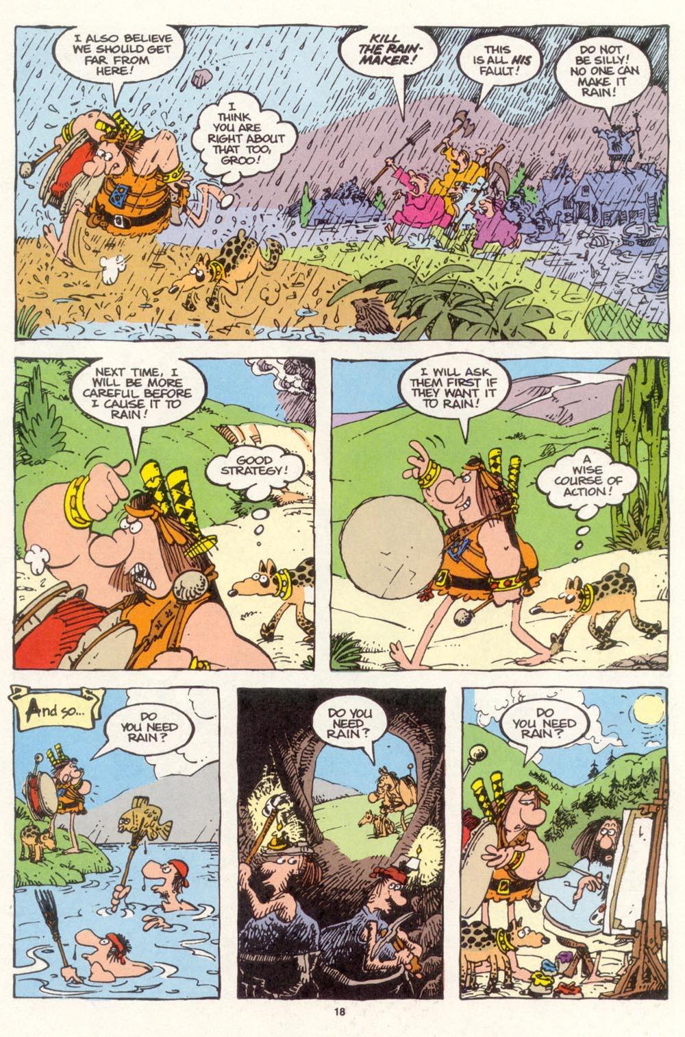 Read online Sergio Aragonés Groo the Wanderer comic -  Issue #113 - 20