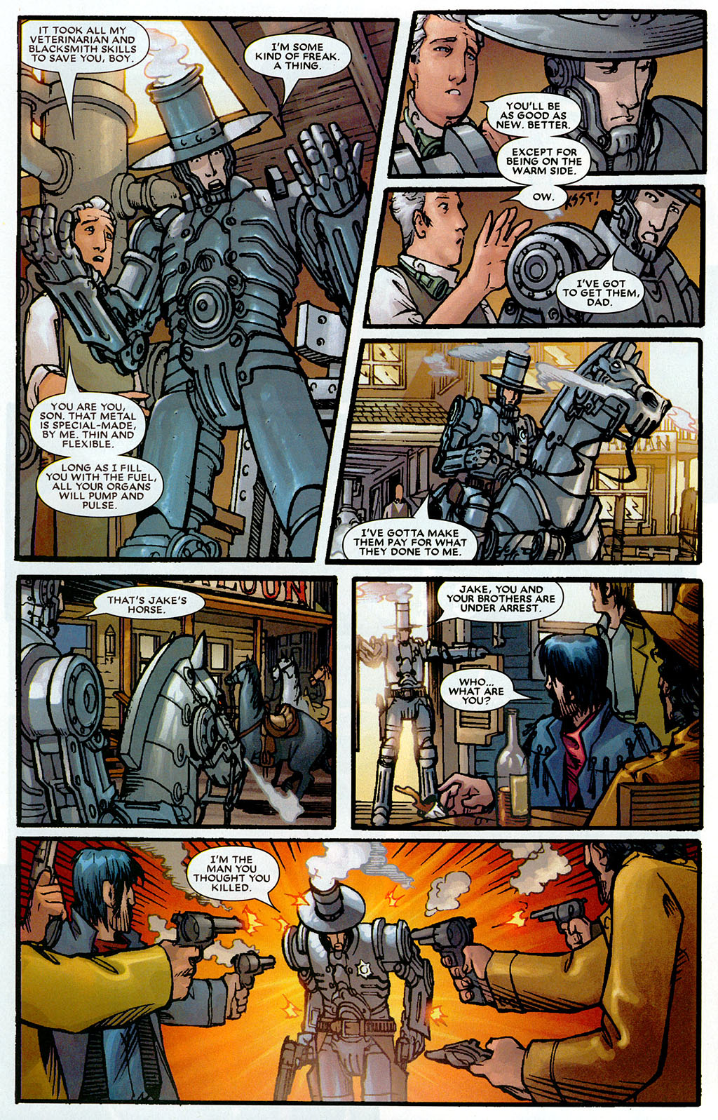 Read online Amazing Fantasy (2004) comic -  Issue #20 - 30