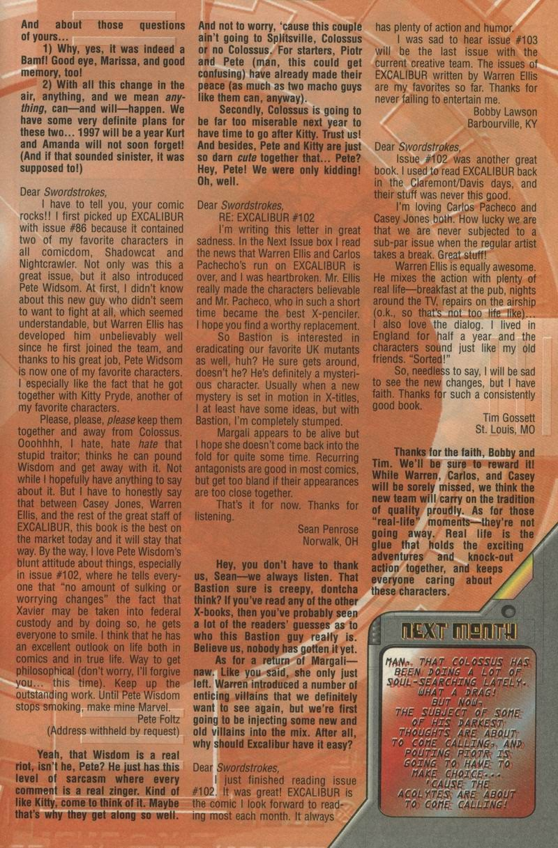 Excalibur (1988) issue 105 - Page 25