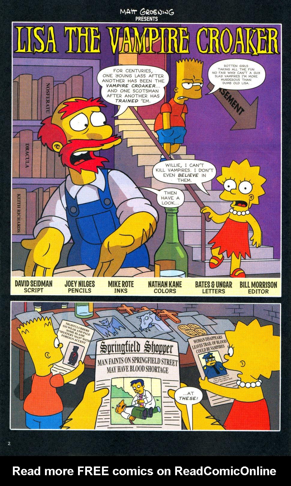 Read online Simpsons Comics Presents Bart Simpson comic -  Issue #28 - 3