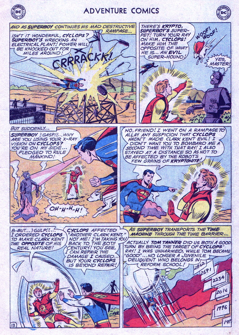 Read online Adventure Comics (1938) comic -  Issue #290 - 30