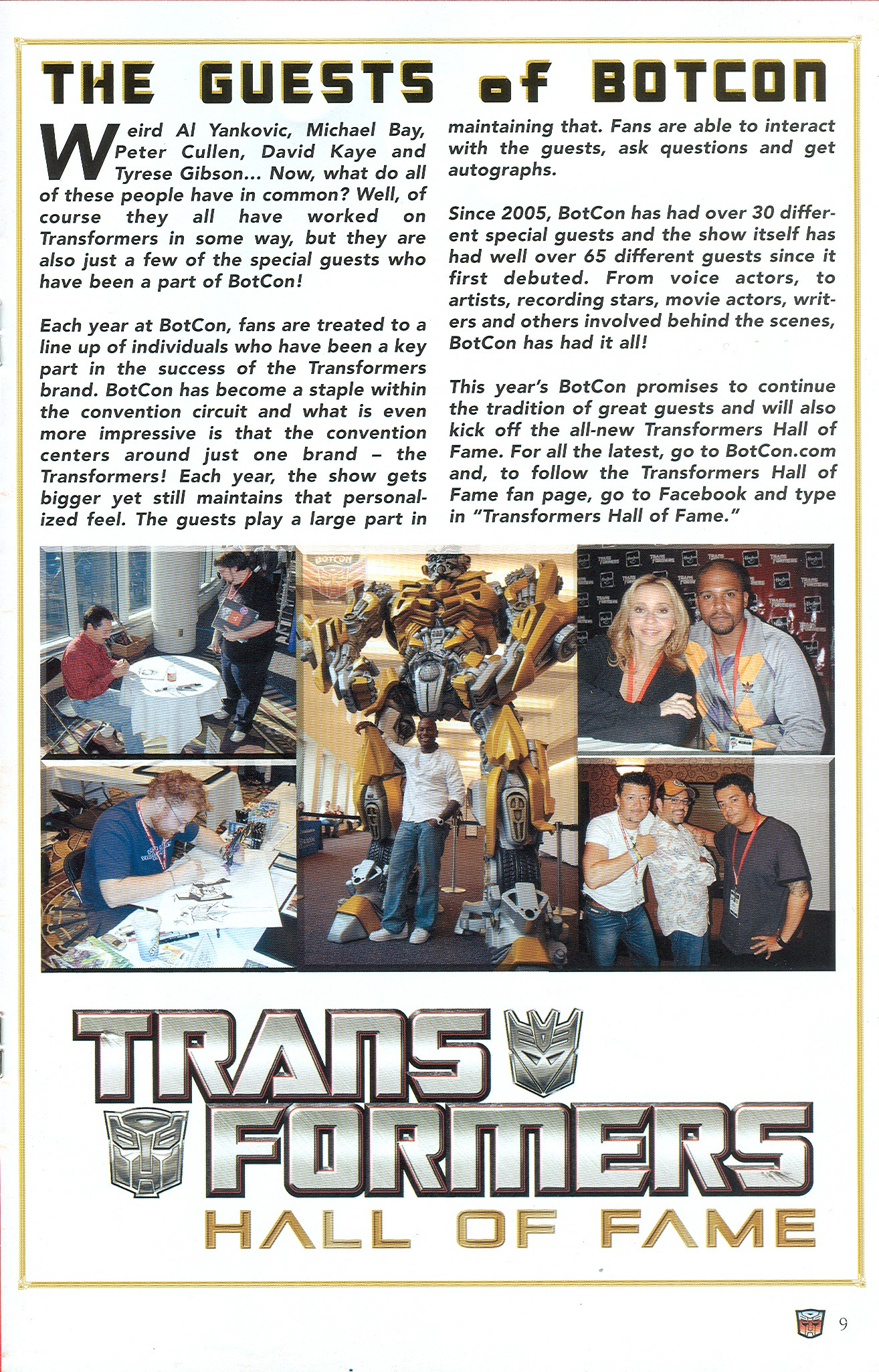 Read online Transformers: Collectors' Club comic -  Issue #33 - 9