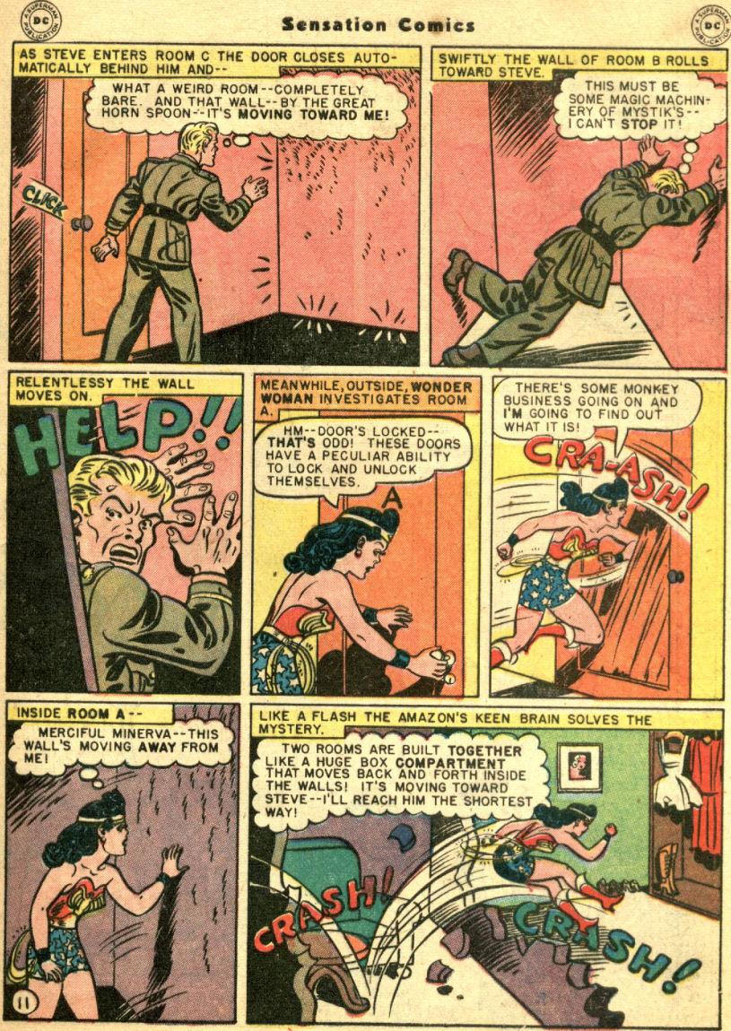 Read online Sensation (Mystery) Comics comic -  Issue #69 - 15