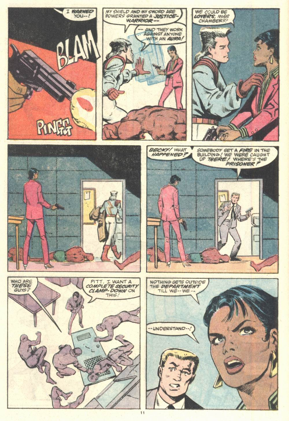 Read online Justice (1986) comic -  Issue #2 - 12