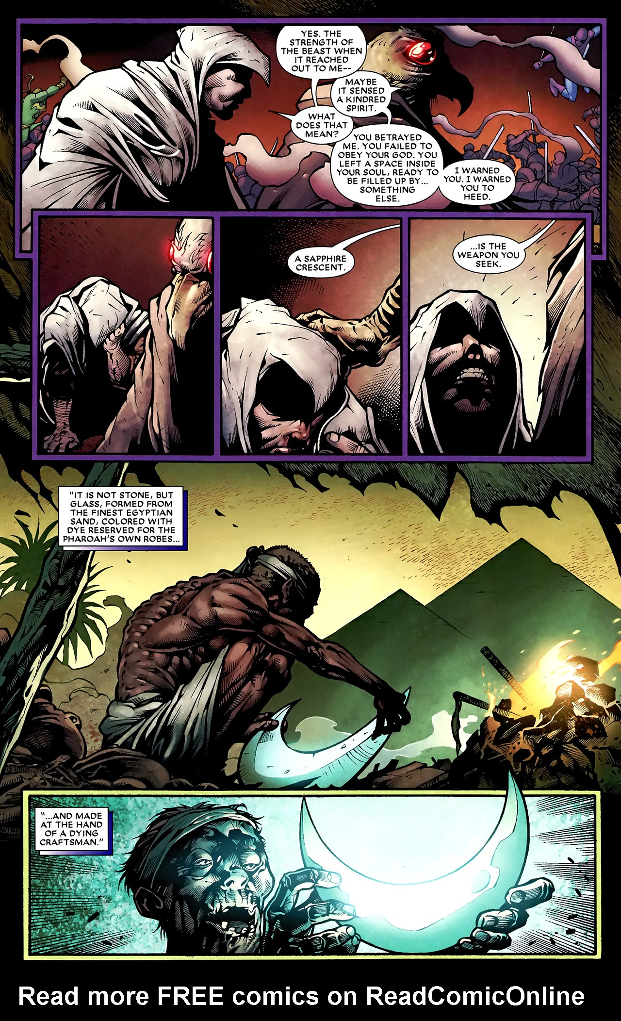 Read online Shadowland: Moon Knight comic -  Issue #2 - 12