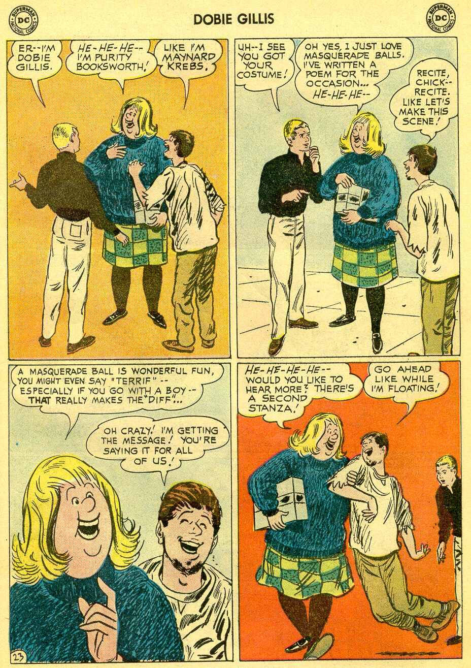 Many Loves of Dobie Gillis issue 4 - Page 29