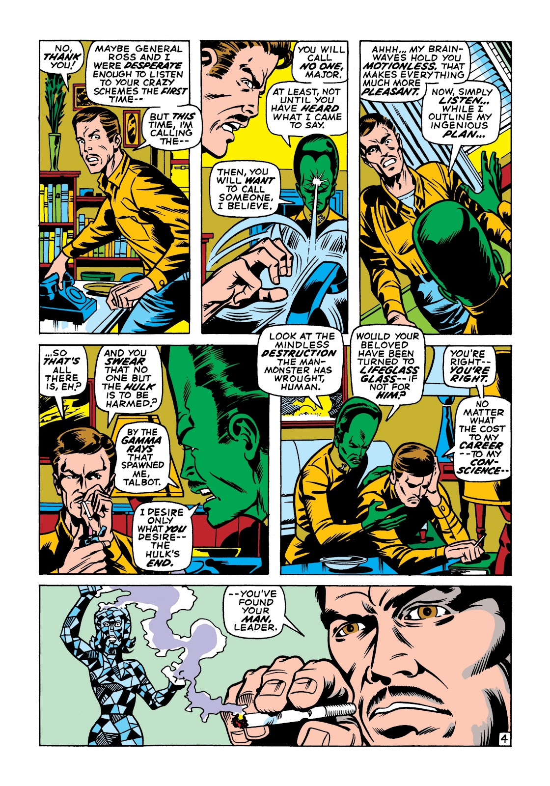 Read online Marvel Masterworks: The Incredible Hulk comic -  Issue # TPB 7 (Part 1) - 91