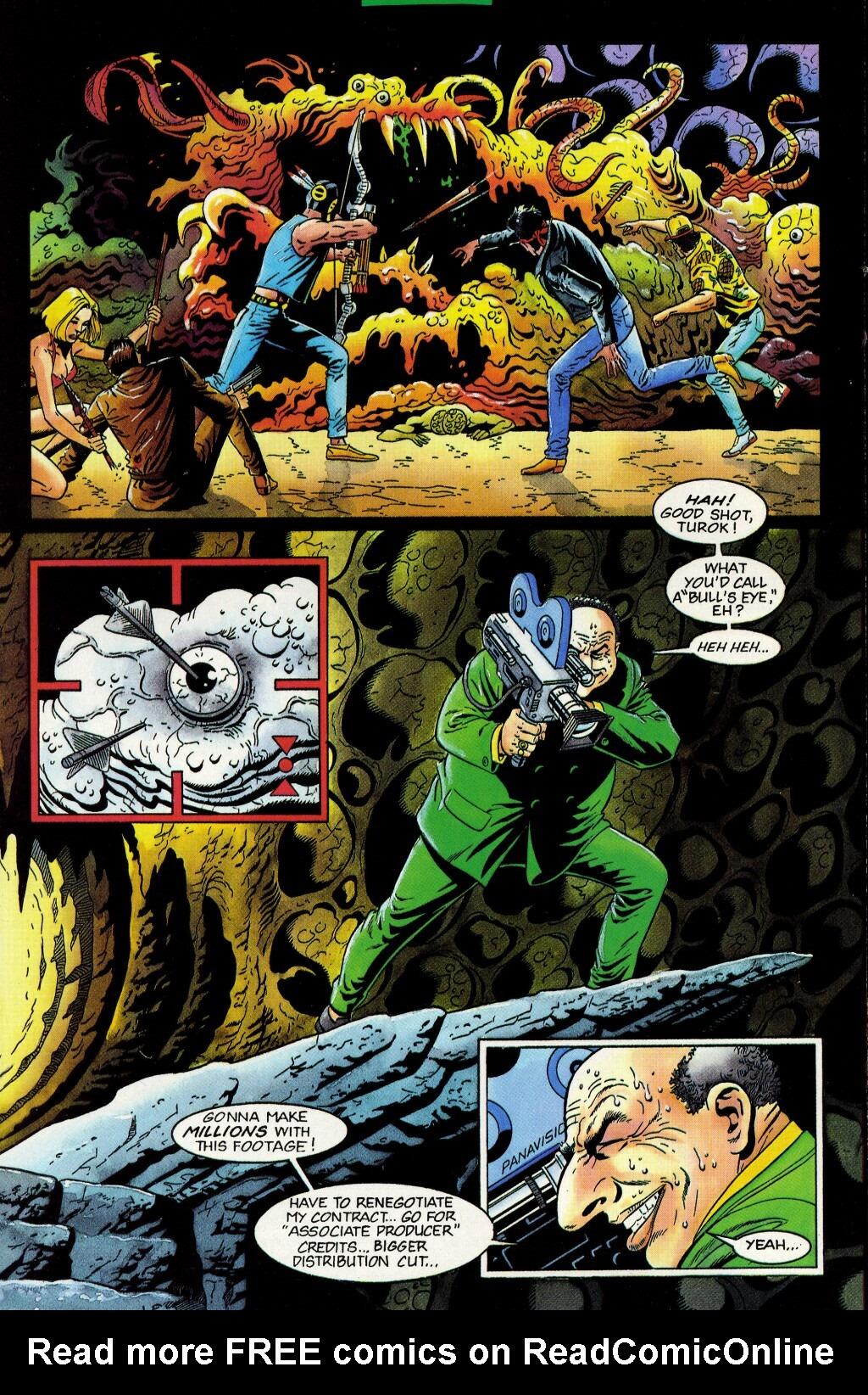 Read online Turok, Dinosaur Hunter (1993) comic -  Issue #33 - 14