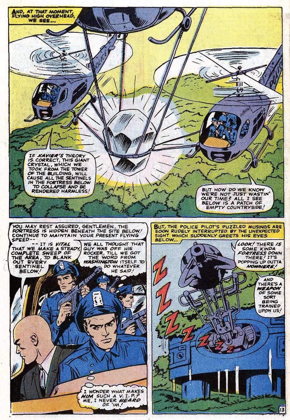 Read online Uncanny X-Men (1963) comic -  Issue #69 - 16
