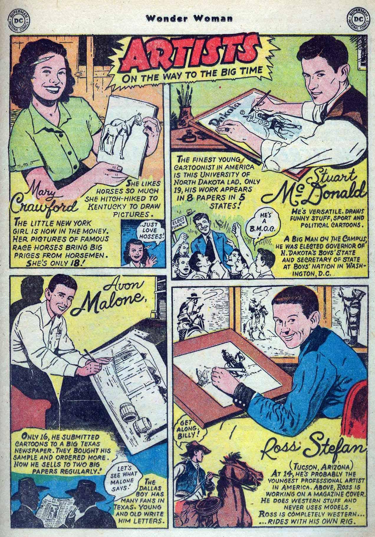 Read online Wonder Woman (1942) comic -  Issue #53 - 31