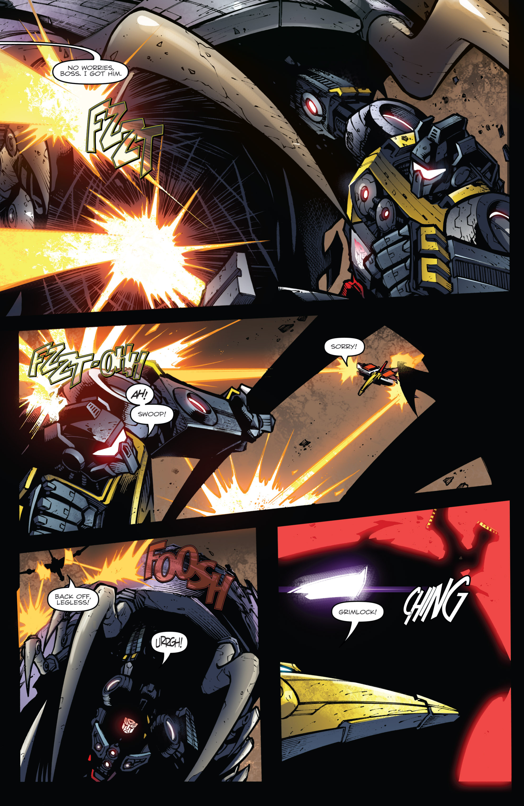Read online Transformers Prime: Beast Hunters comic -  Issue #6 - 18