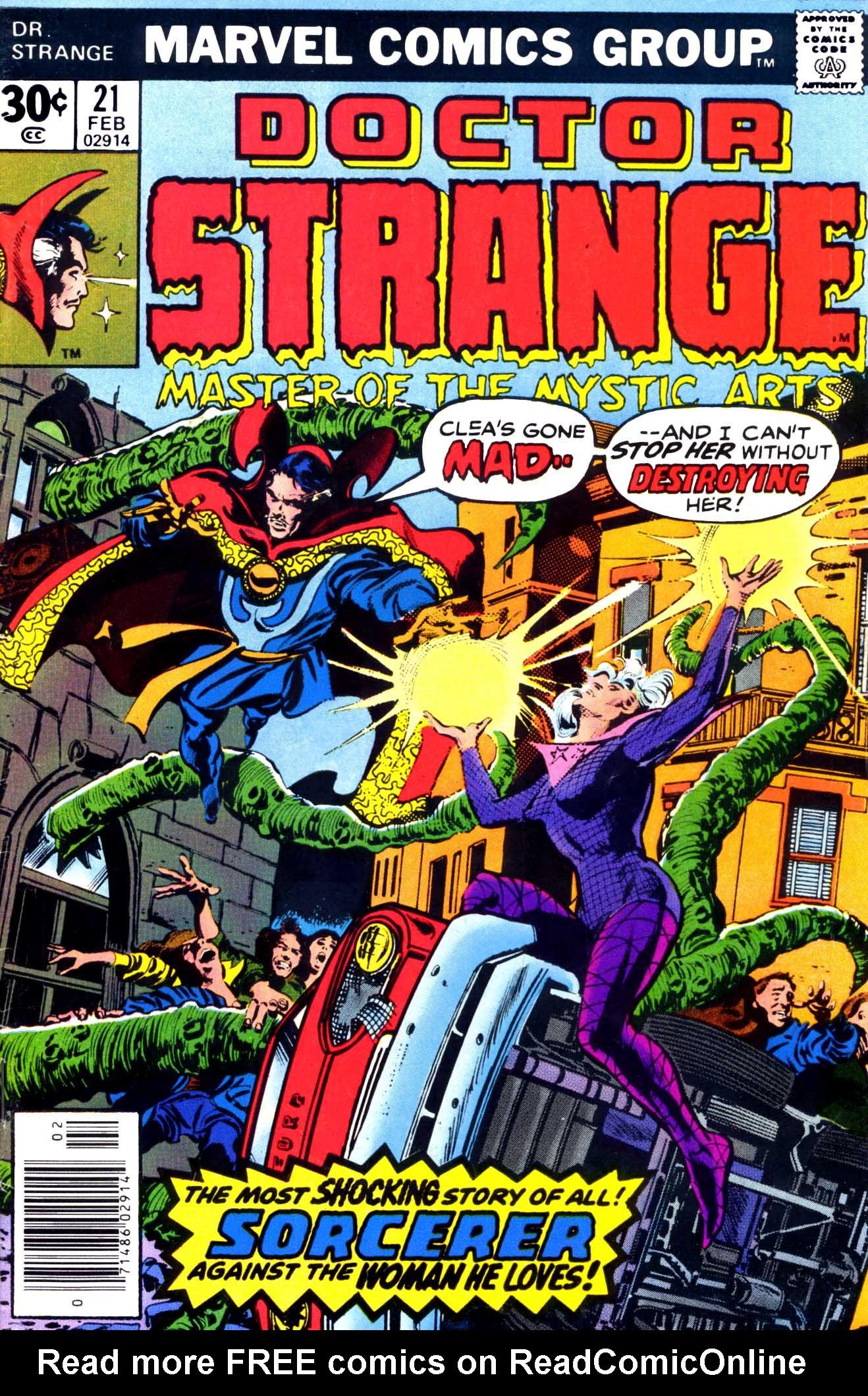 Doctor Strange (1974) 21 Page 1