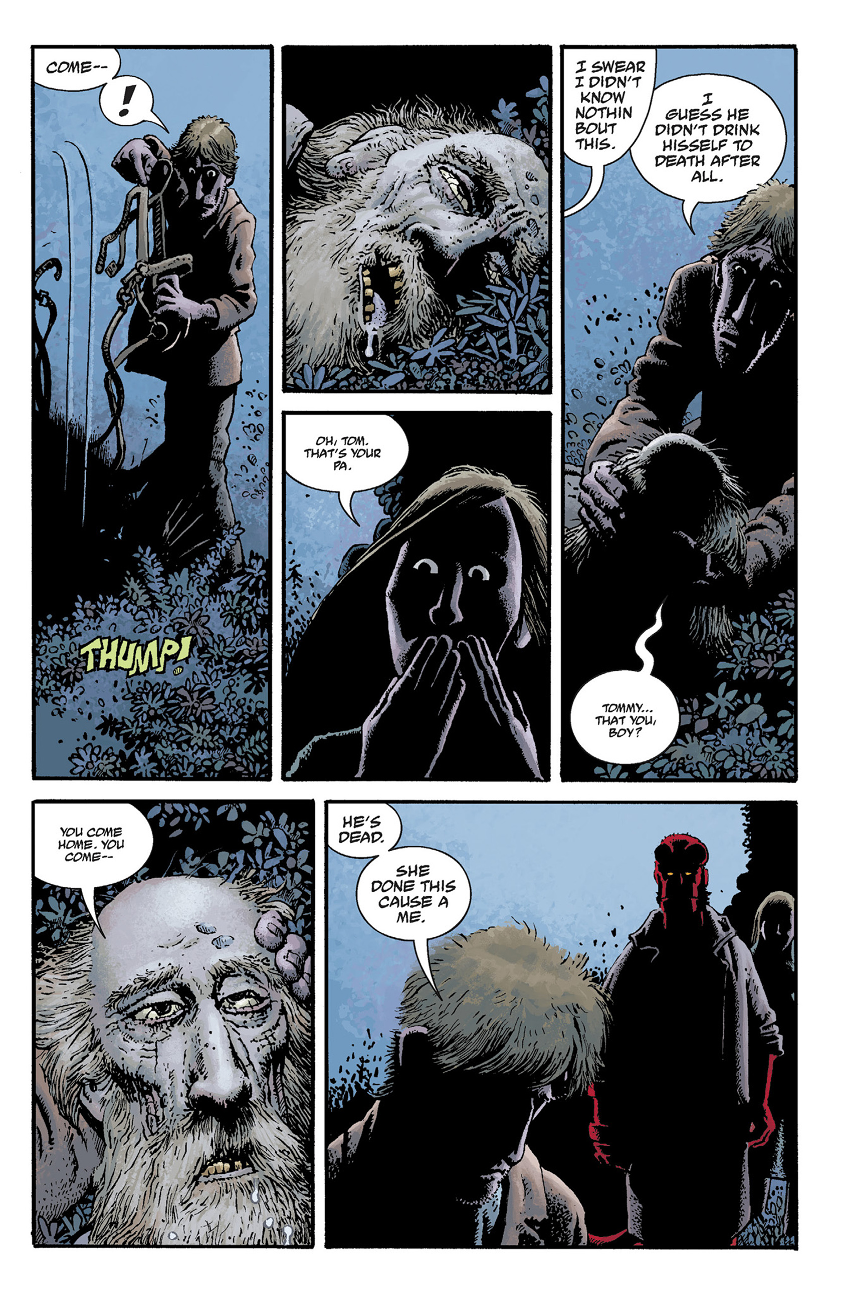 Read online Hellboy: The Crooked Man and Others comic -  Issue # TPB - 31