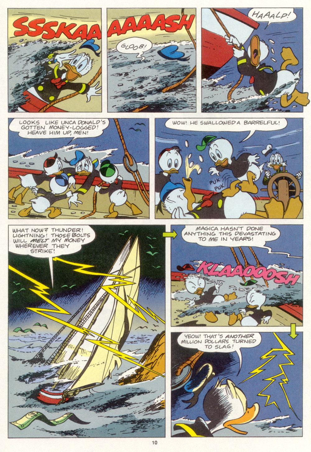 Read online Uncle Scrooge (1953) comic -  Issue #267 - 11