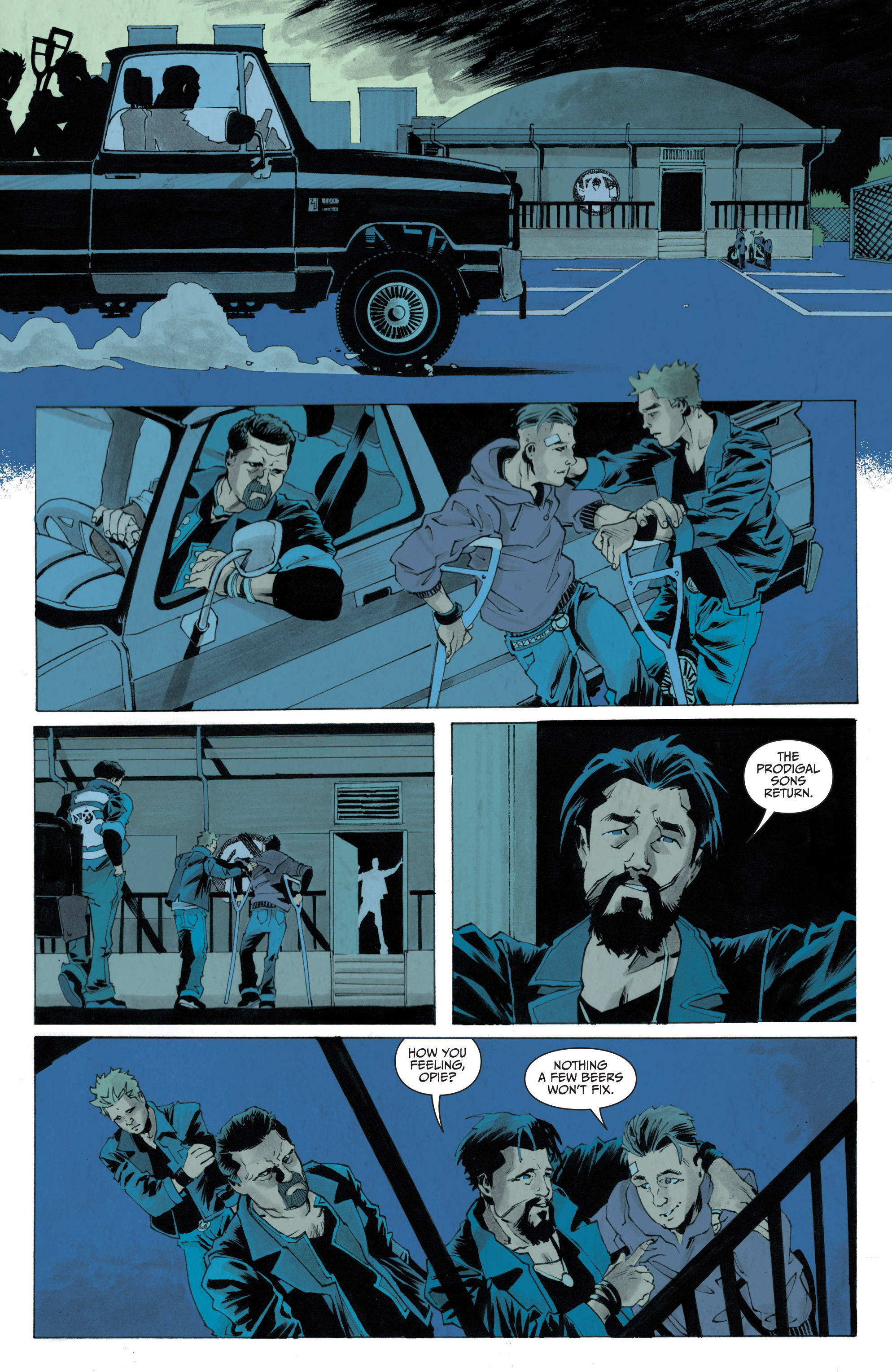 Read online Sons of Anarchy: Redwood Original comic -  Issue #4 - 20