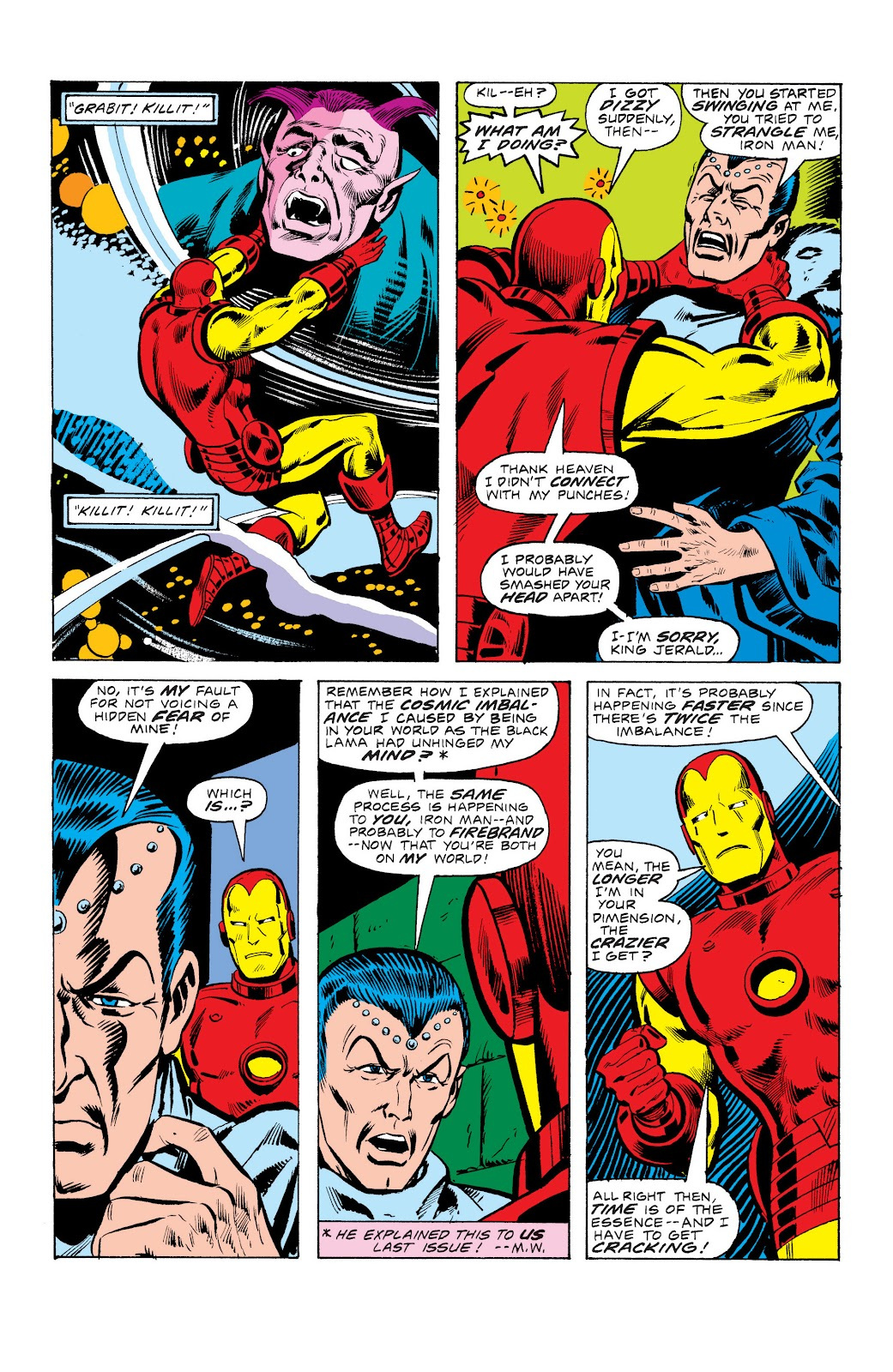 Read online Marvel Masterworks: The Invincible Iron Man comic -  Issue # TPB 10 (Part 3) - 43