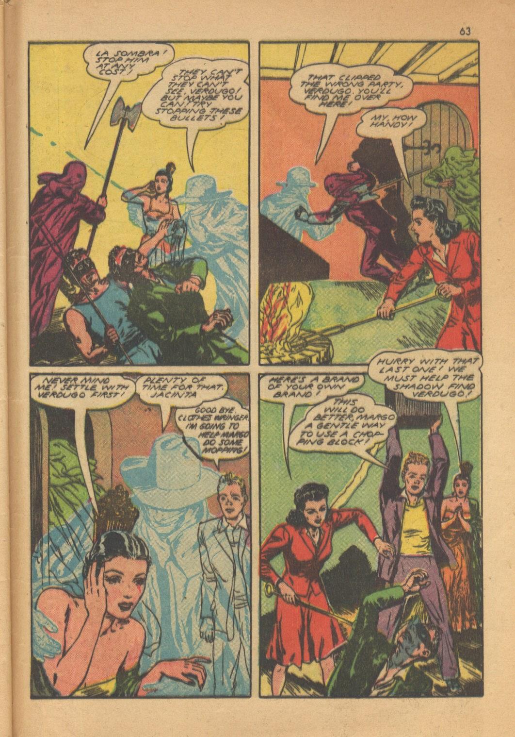 Read online Super-Magician Comics comic -  Issue #13 - 63
