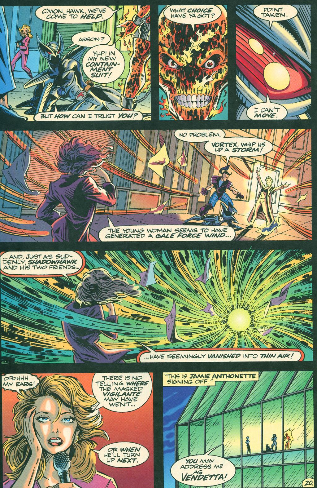 Read online ShadowHawk comic -  Issue #4 - 24