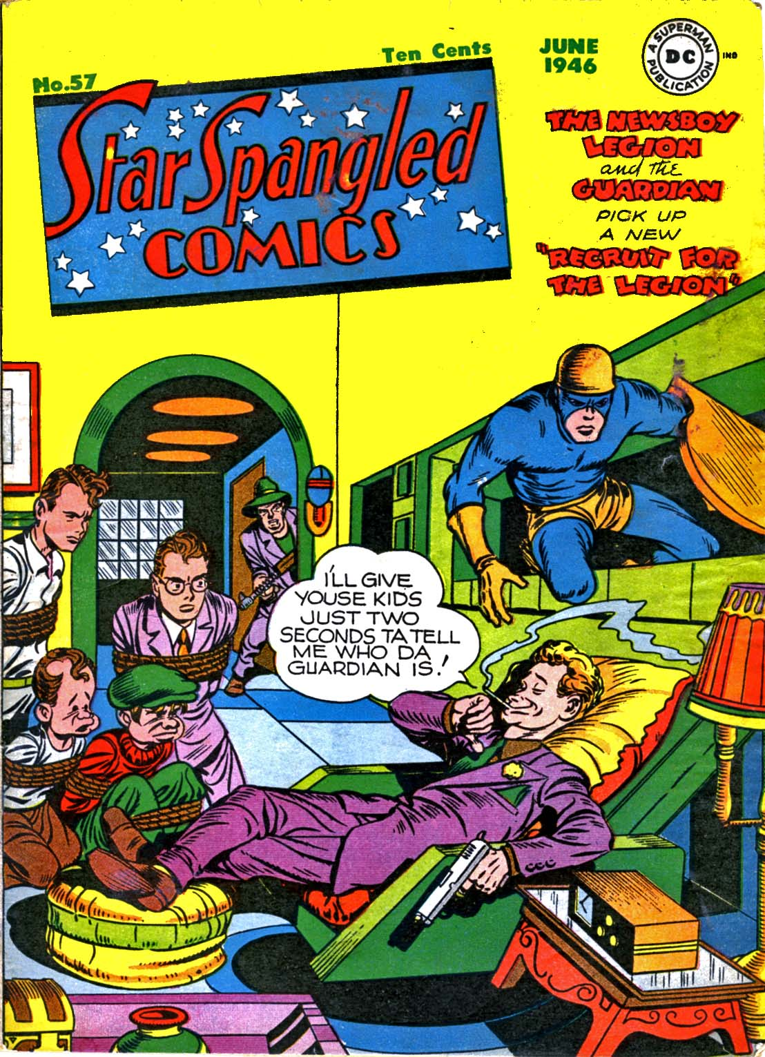 Star Spangled Comics (1941) 57 Page 1