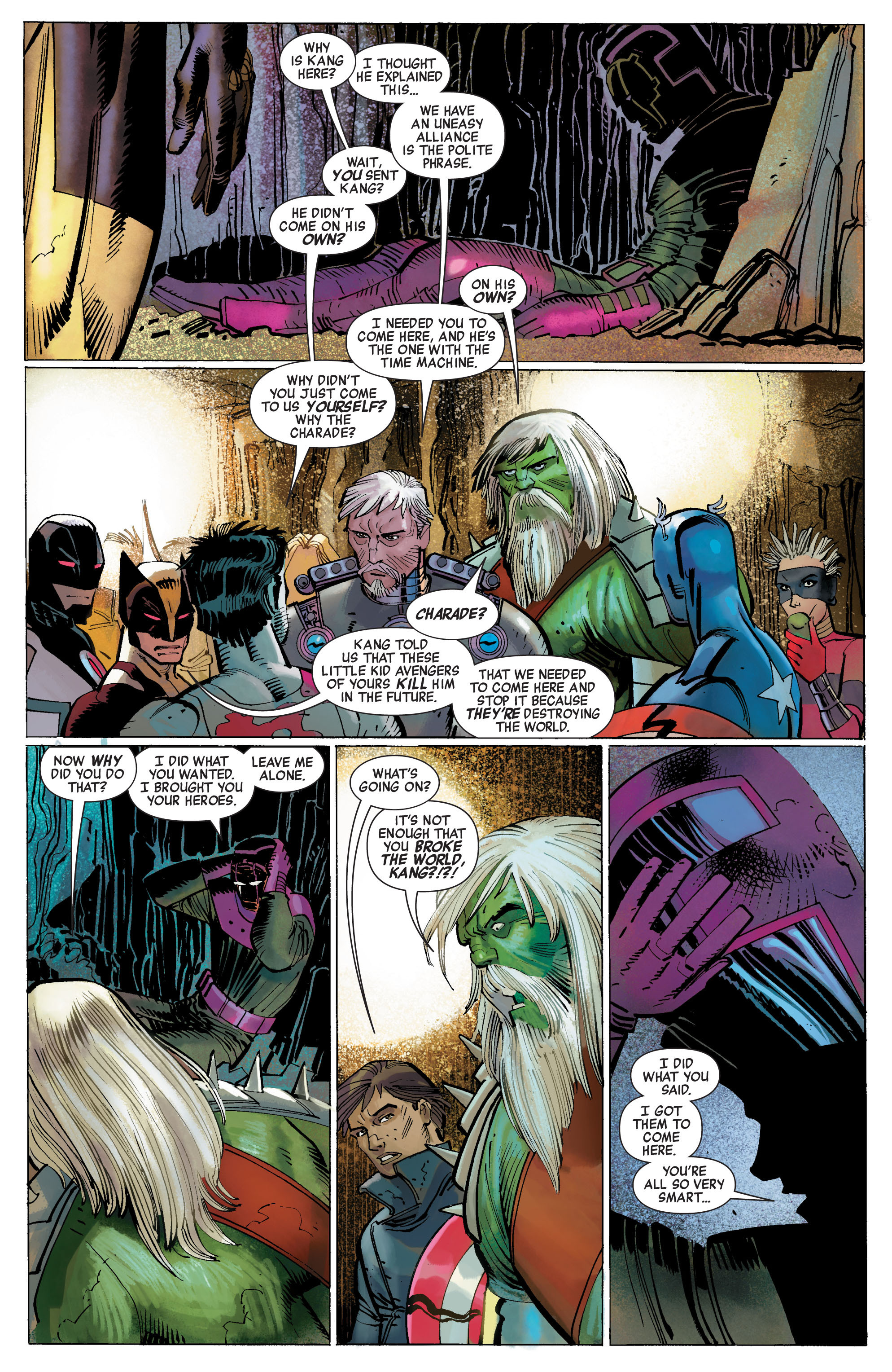 Read online Avengers (2010) comic -  Issue #5 - 8