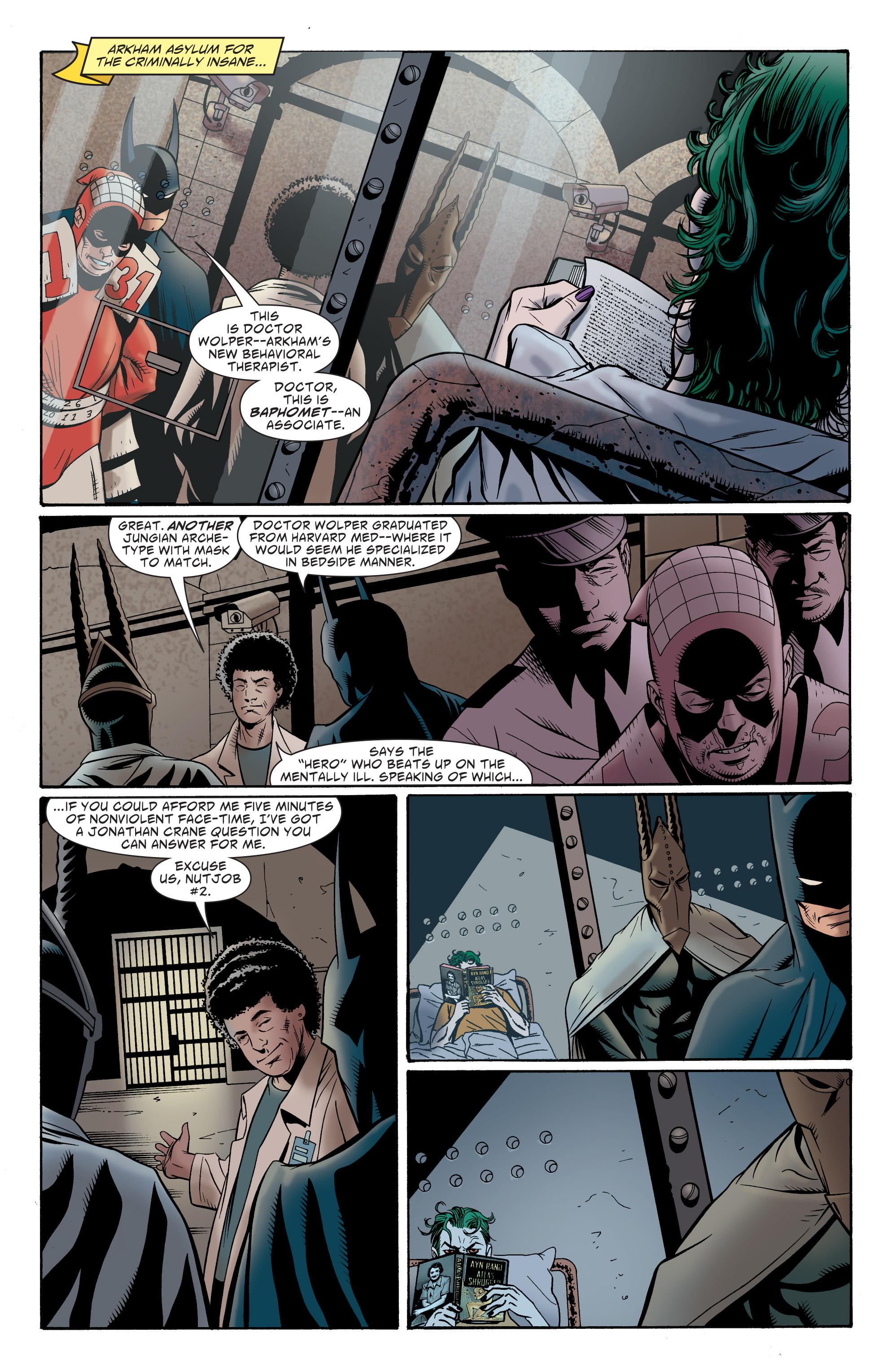 Read online Batman: The Widening Gyre comic -  Issue #6 - 37