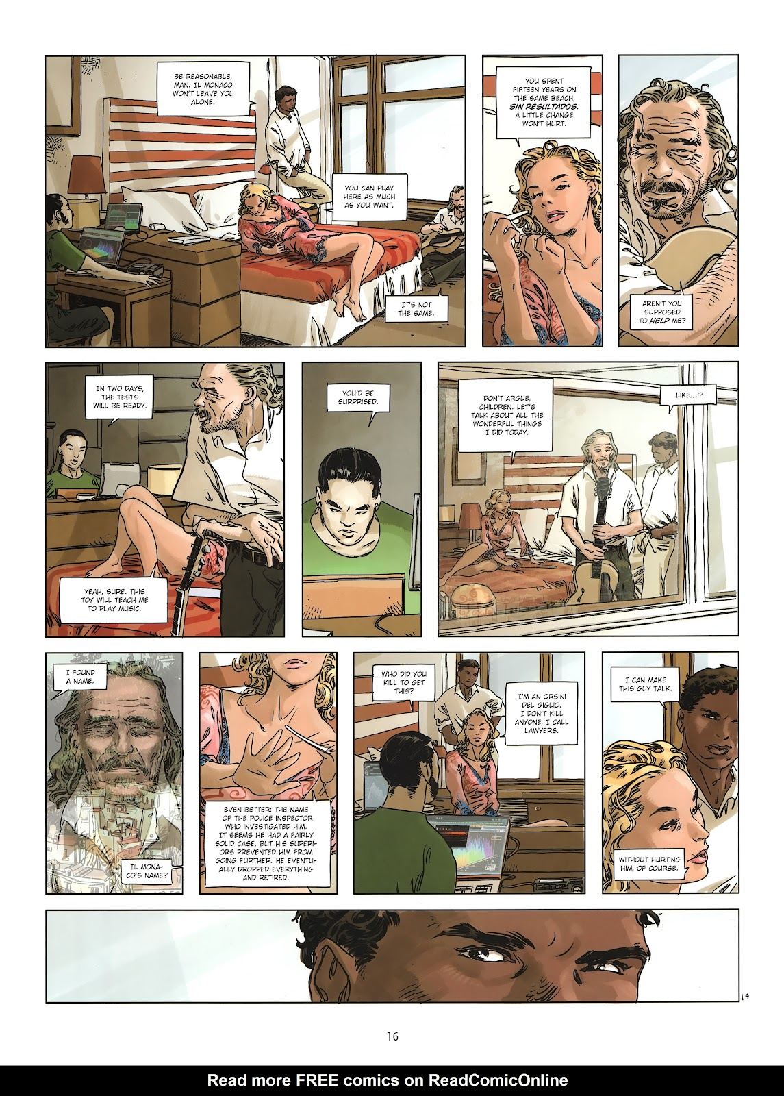 Read online Cutting Edge (2013) comic -  Issue #2 - 16