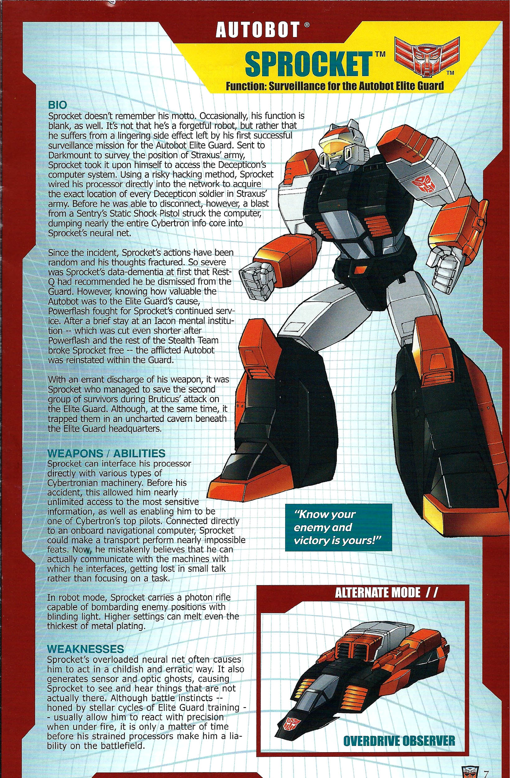 Read online Transformers: Collectors' Club comic -  Issue #41 - 7