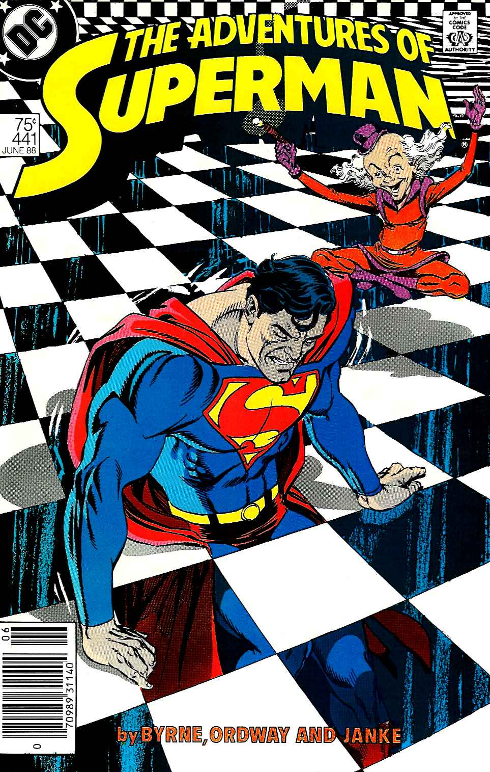 Adventures of Superman (1987) 441 Page 1