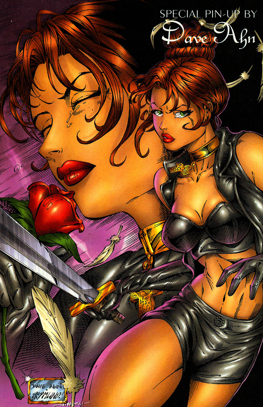 Read online Avengelyne (1996) comic -  Issue #9 - 24