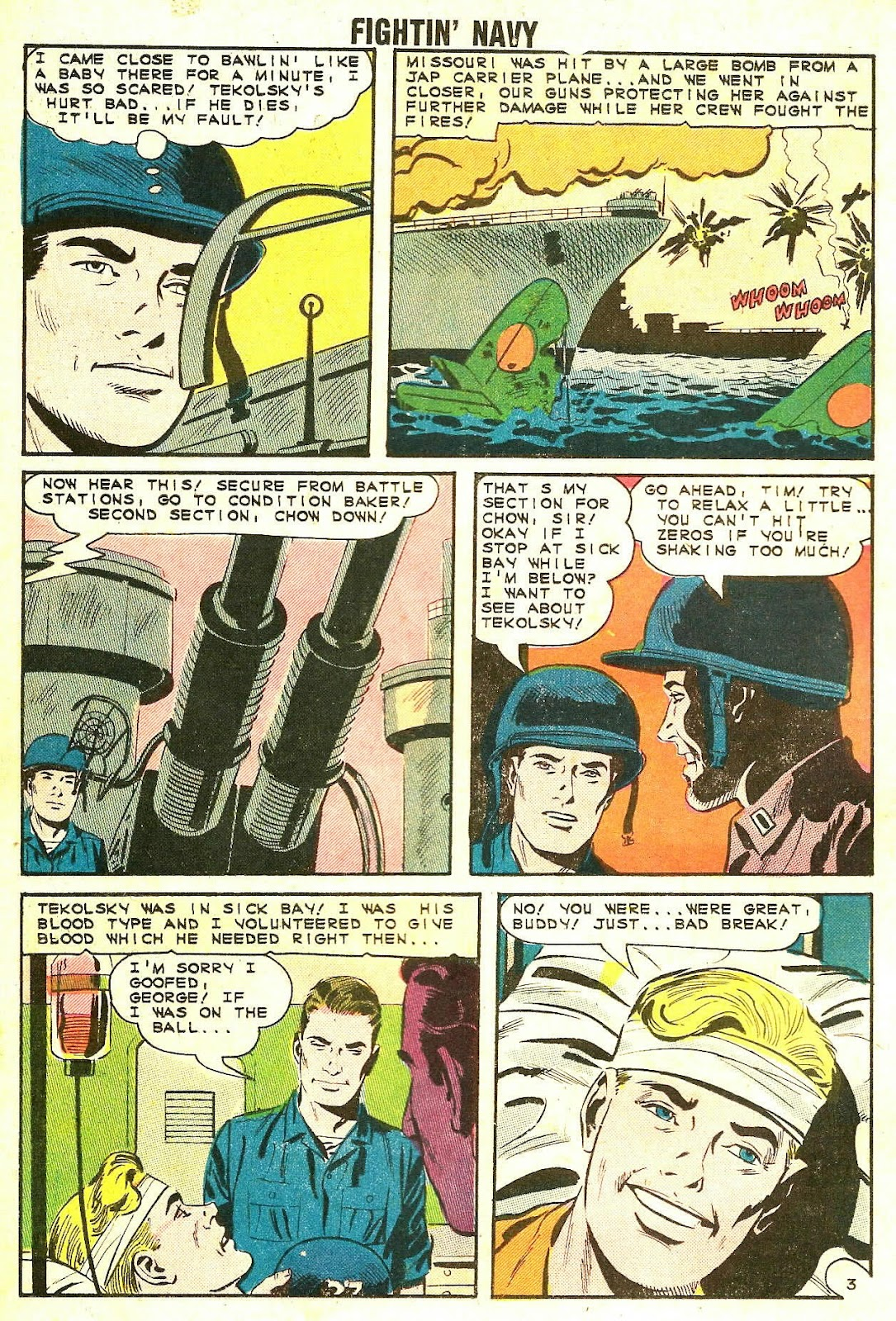 Read online Fightin' Navy comic -  Issue #118 - 18