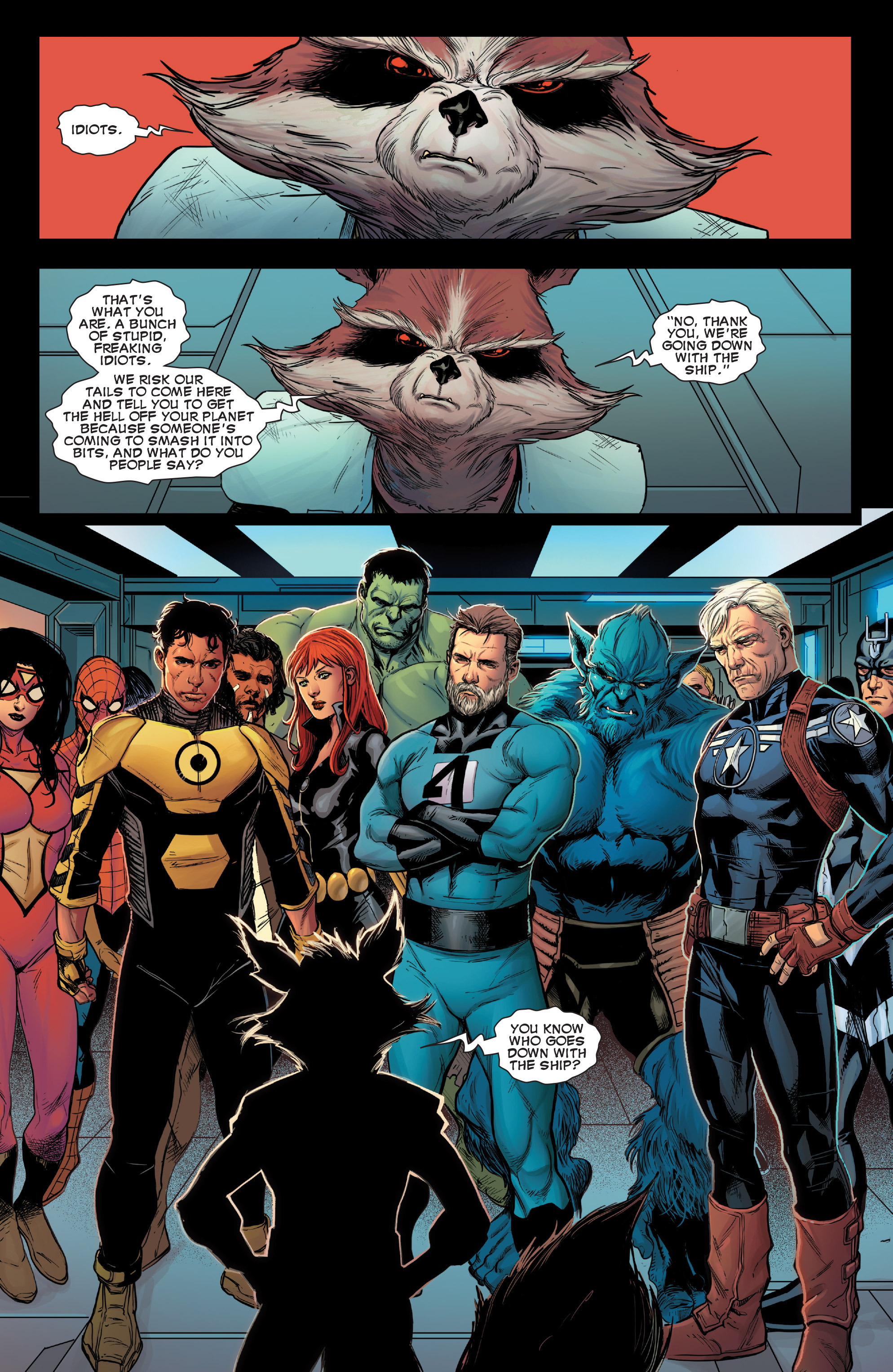 Read online Avengers (2013) comic -  Issue #42 - 22