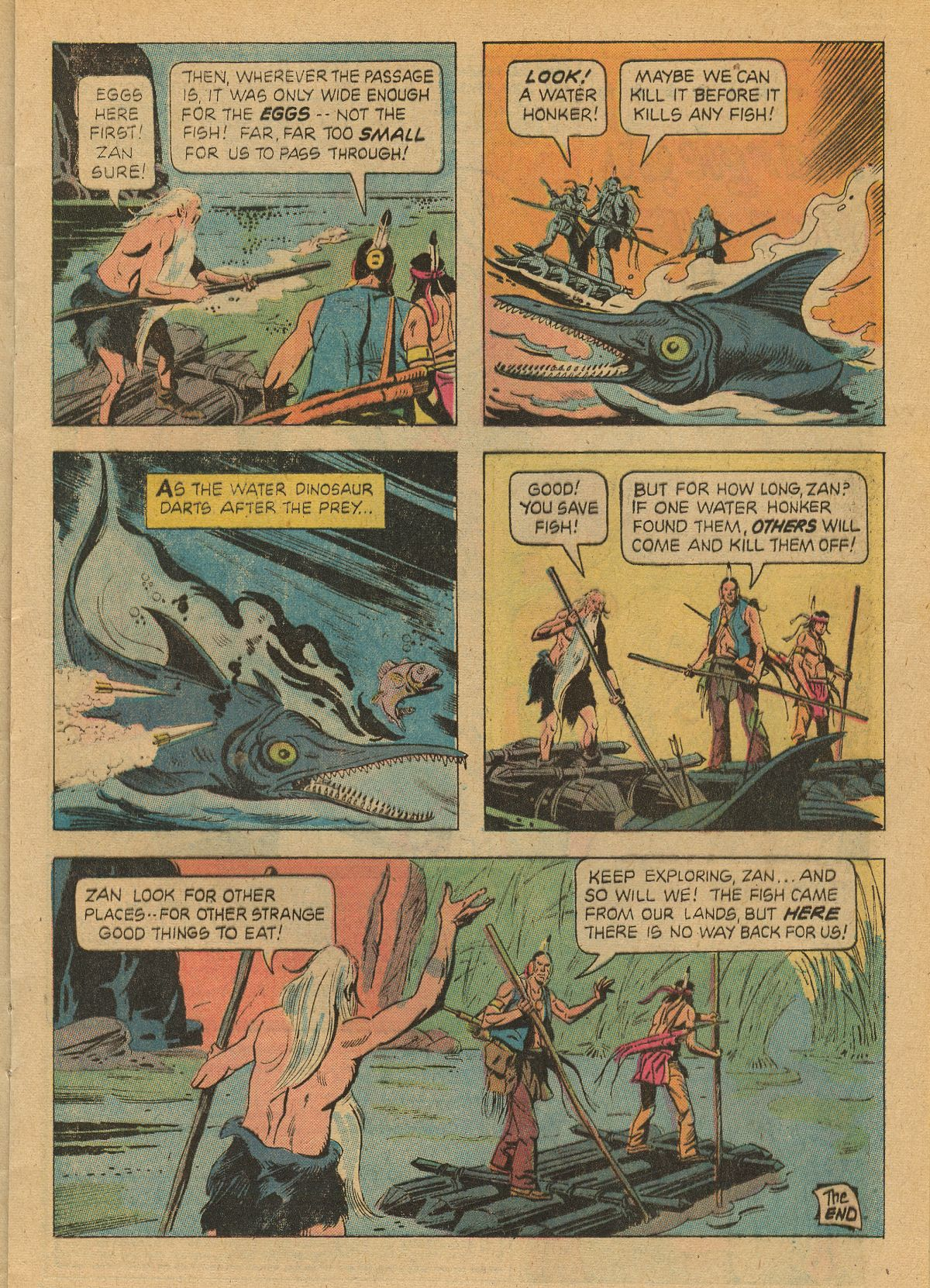 Read online Turok, Son of Stone comic -  Issue #99 - 17