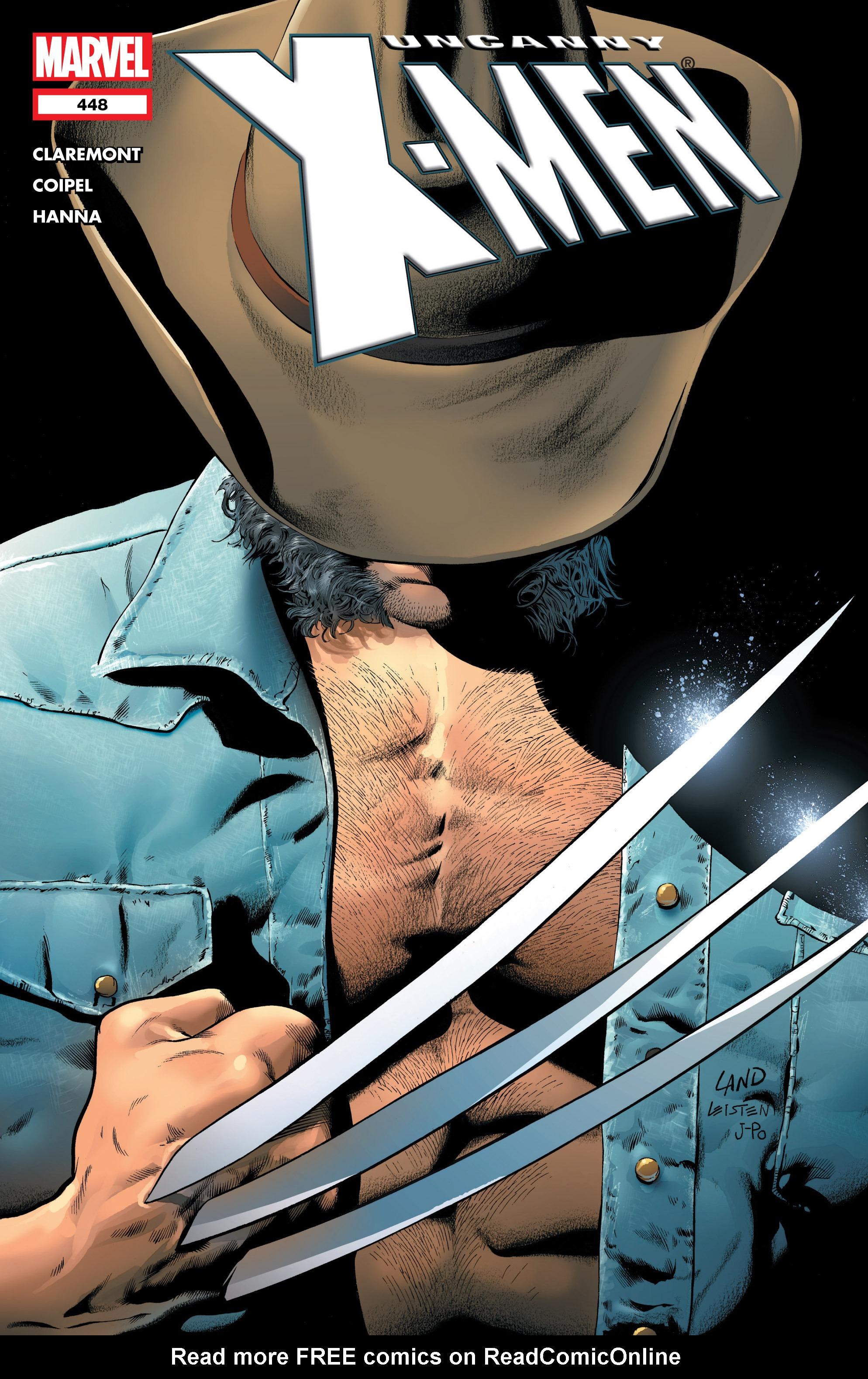 Uncanny X-Men (1963) 448 Page 1