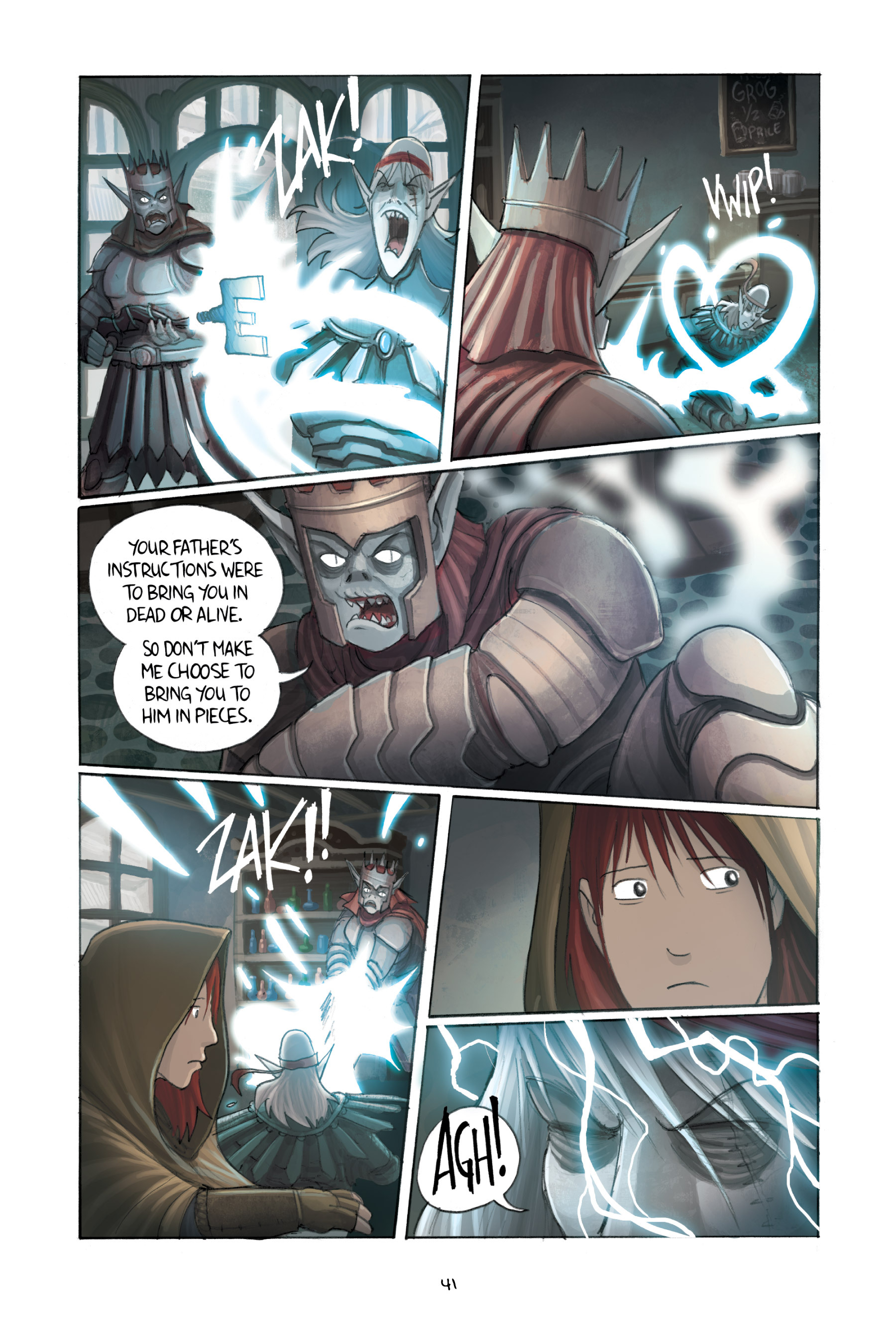 Read online Amulet comic -  Issue #3 - 40