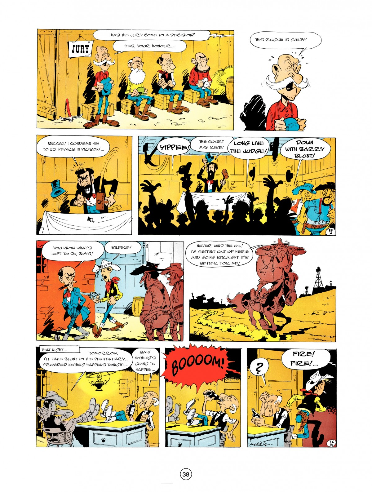 A Lucky Luke Adventure 5 Page 39