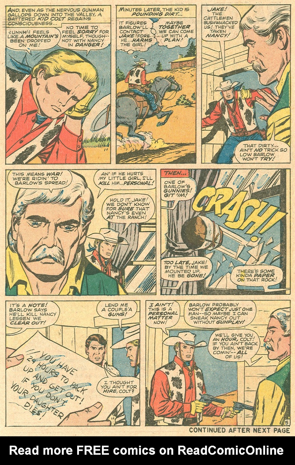 Kid Colt Outlaw issue 136 - Page 7