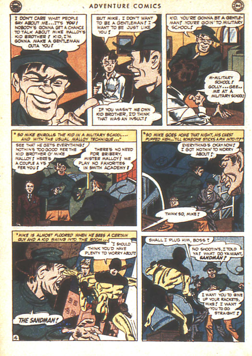 Read online Adventure Comics (1938) comic -  Issue #92 - 5