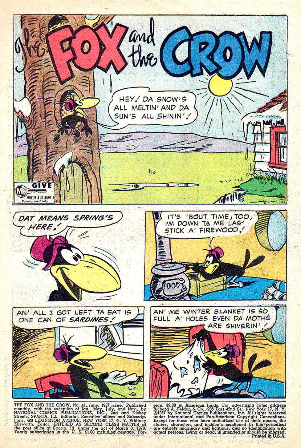 The Fox and the Crow issue 41 - Page 3