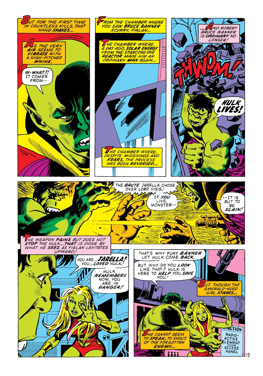 Read online Marvel Masterworks: The Incredible Hulk comic -  Issue # TPB 8 (Part 2) - 4