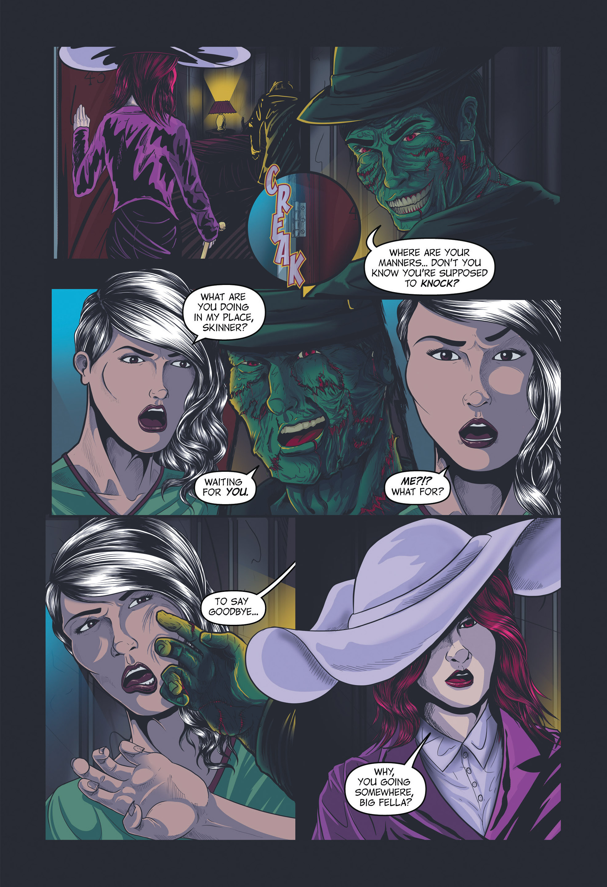 Read online Redemption Heights comic -  Issue # Full - 70
