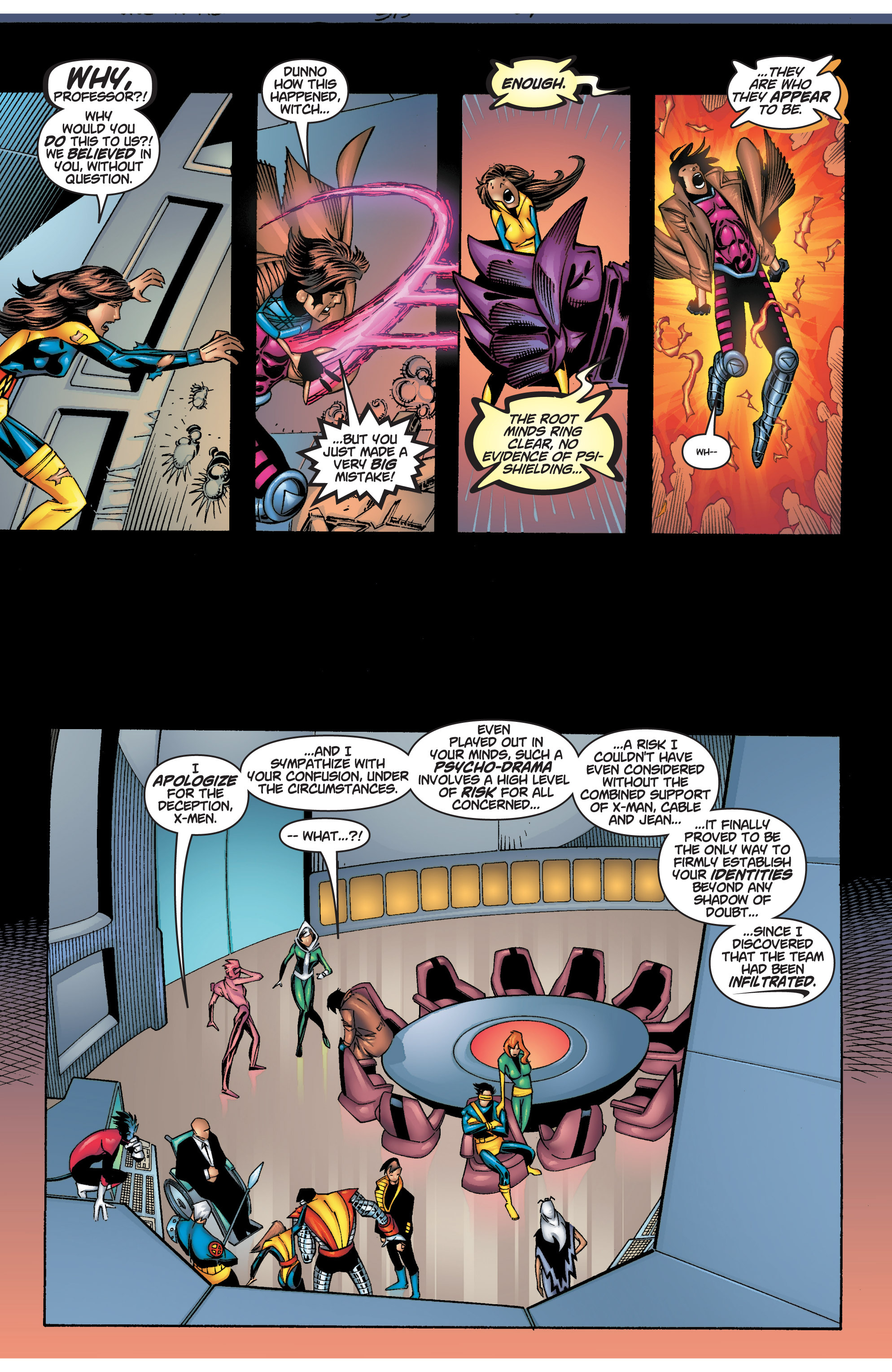 Read online Uncanny X-Men (1963) comic -  Issue #375 - 27