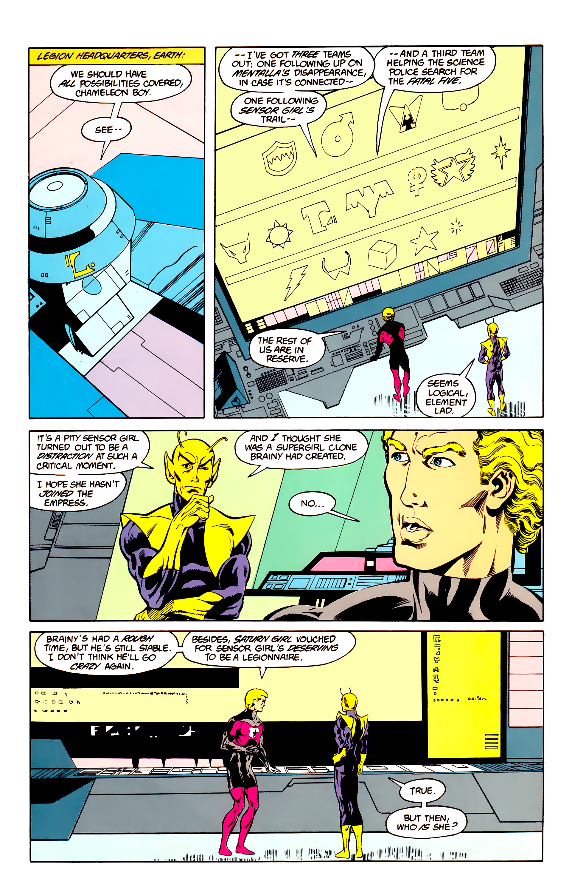 Legion of Super-Heroes (1984) 25 Page 15