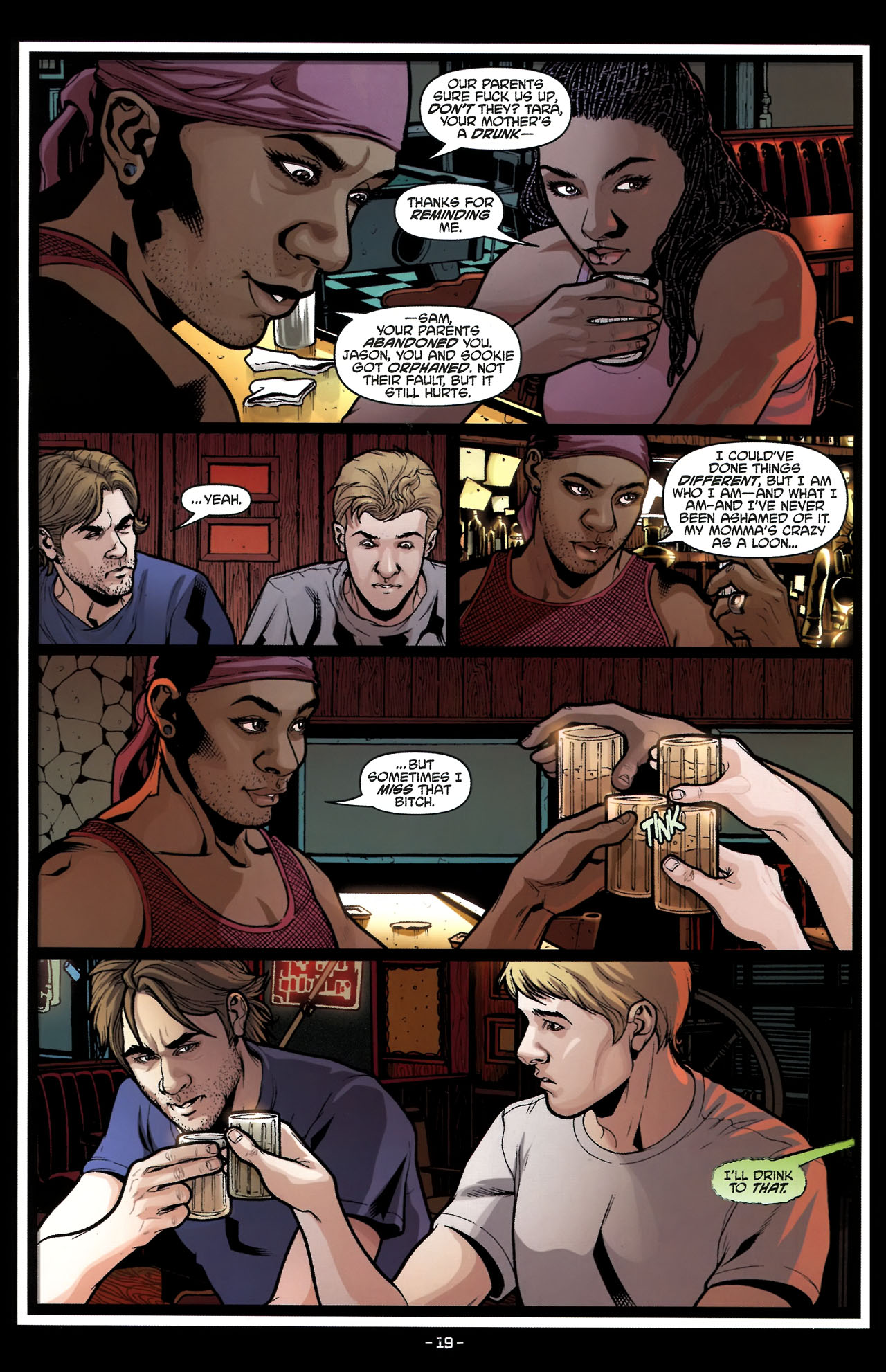 Read online True Blood (2010) comic -  Issue #5 - 22