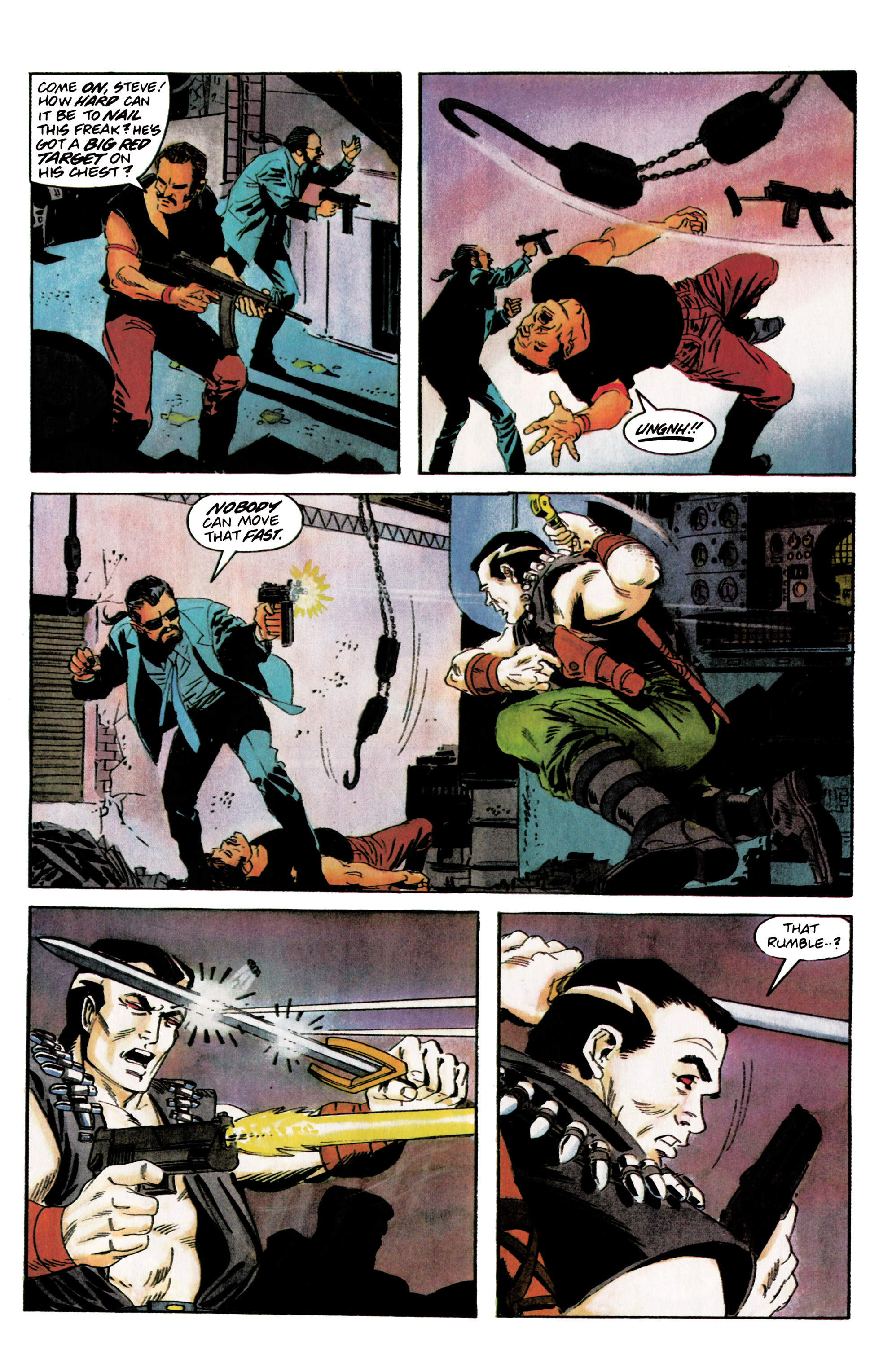 Read online Eternal Warrior (1992) comic -  Issue #5 - 19